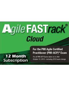 Agile FASTrack® Cloud - PMI-ACP® Exam Simulator - Version 2 - 12 Month