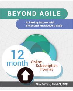 Beyond Agile - Cloud Subscription - 12 Month