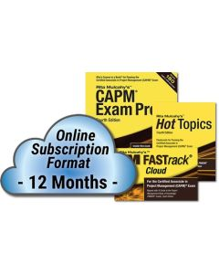 CAPM® Exam Prep System, 4th Edition - Cloud Subscription - 12 Month