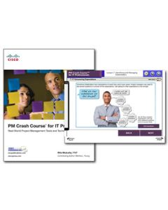 PM Crash Course™ for IT Professionals eLearning Course Plus Book