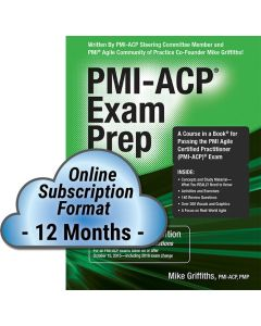 PMI-ACP® Exam Prep, Updated Second Edition - Cloud Subscription - 12 Month