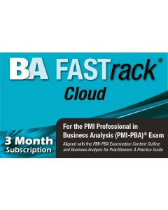 BA FASTrack® Cloud - PMI-PBA® Exam Simulator - Version 2 - 3 Month