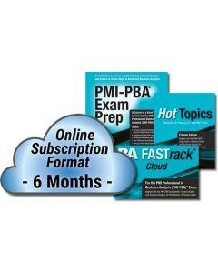 PMI-PBA Exam Prep System - Cloud Subscription - 6 Month