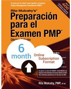 PMP® Exam Prep, Tenth Edition - Cloud Subscription - Spanish Translation - 6 Month