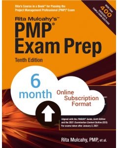PMP® Exam Prep, Tenth Edition - Cloud Subscription - 6 Month