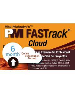 PM FASTrack® Cloud - PMP® Exam Simulator - Version 10 - Spanish Translation - 6 Month