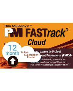 PM FASTrack® Cloud - PMP® Exam Simulator - Version 10 - Portuguese Translation - 12 Month