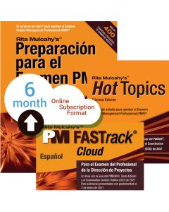 PMP® Exam Prep System, Tenth Edition - Cloud Subscription - Spanish Translation - 6 Month