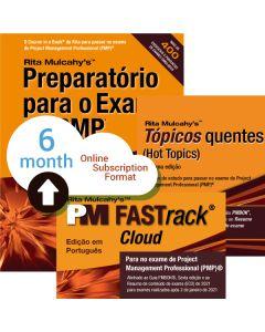 PMP® Exam Prep System, Tenth Edition - Cloud Subscription - Portuguese Translation - 6 Month