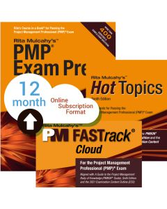PMP® Exam Prep System, Tenth Edition - Cloud Subscription - 12 Month