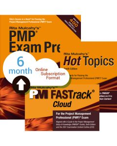 PMP® Exam Prep System, Tenth Edition - Cloud Subscription - 6 Month
