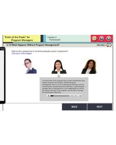 Tricks of the Trade® for Program Managers eLearning Course 1