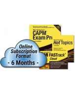 CAPM® Exam Prep System, 4th Edition - Cloud Subscription - 6 Month