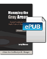 Managing the Gray Areas eBook