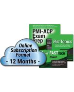 PMI-ACP® Exam Prep System, Updated Second Edition - Cloud Subscription - 12 Month
