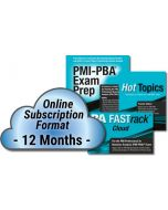PMI-PBA Exam Prep System - Cloud Subscription - 12 Month