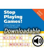 Stop Playing Games! - Audio Book - Downloadable